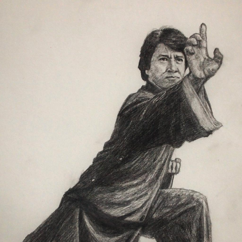 Kung Fu Master in one of his movies