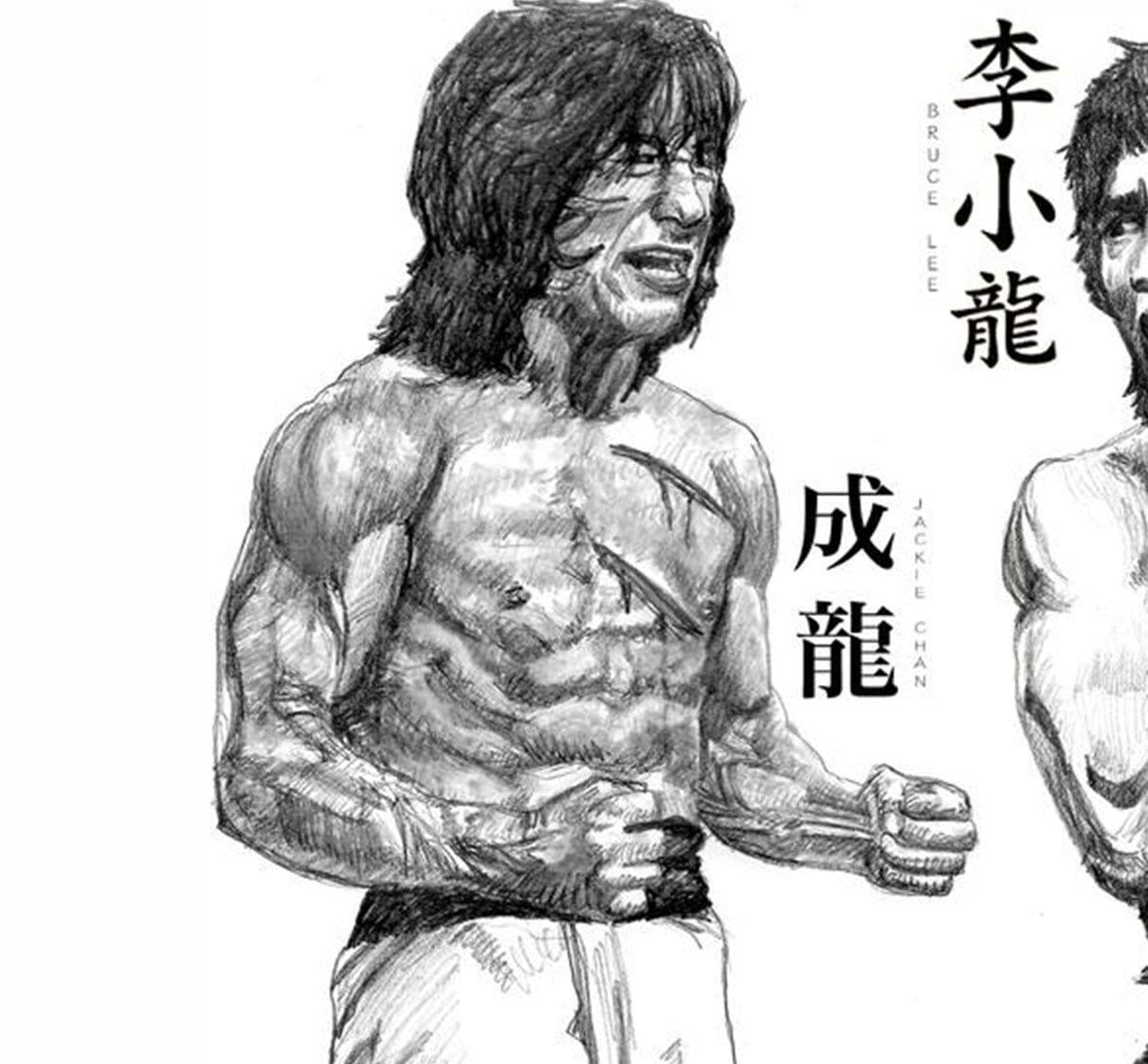 This amazing sketch of Jackie Chan